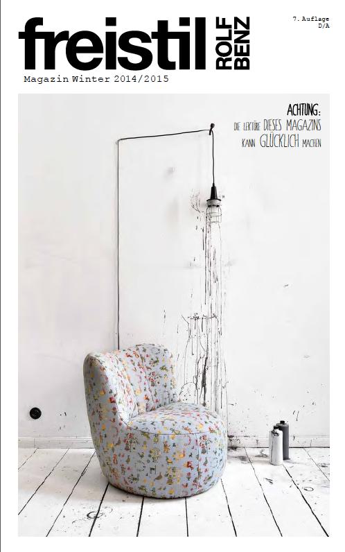 freistil ROLF BENZ Magazin von Doris Schmitt Glaeser